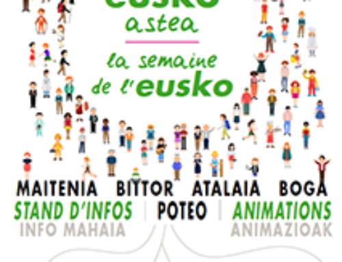 Eusko Astea Ziburun – La Semaine de l'Eusko à Ciboure
