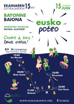 L'Eusko Poteo à Bayonne ! Eusko poteoa Baionan!