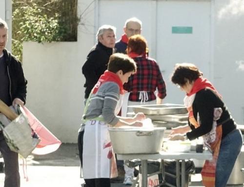 Eric-Pierre, cuisinier bénévole à l'Eusko Eguna