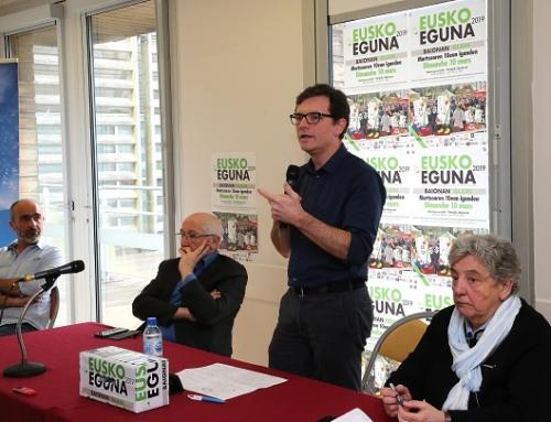 La conférence de l'Eusko Eguna en ligne