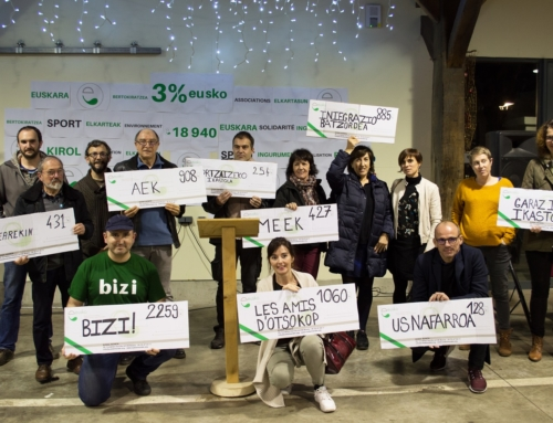 Le programme d'Eusko Elkarteen Eguna – La journée Eusko des associations