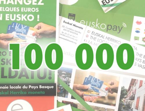 Le cap des 100 000 est franchi !