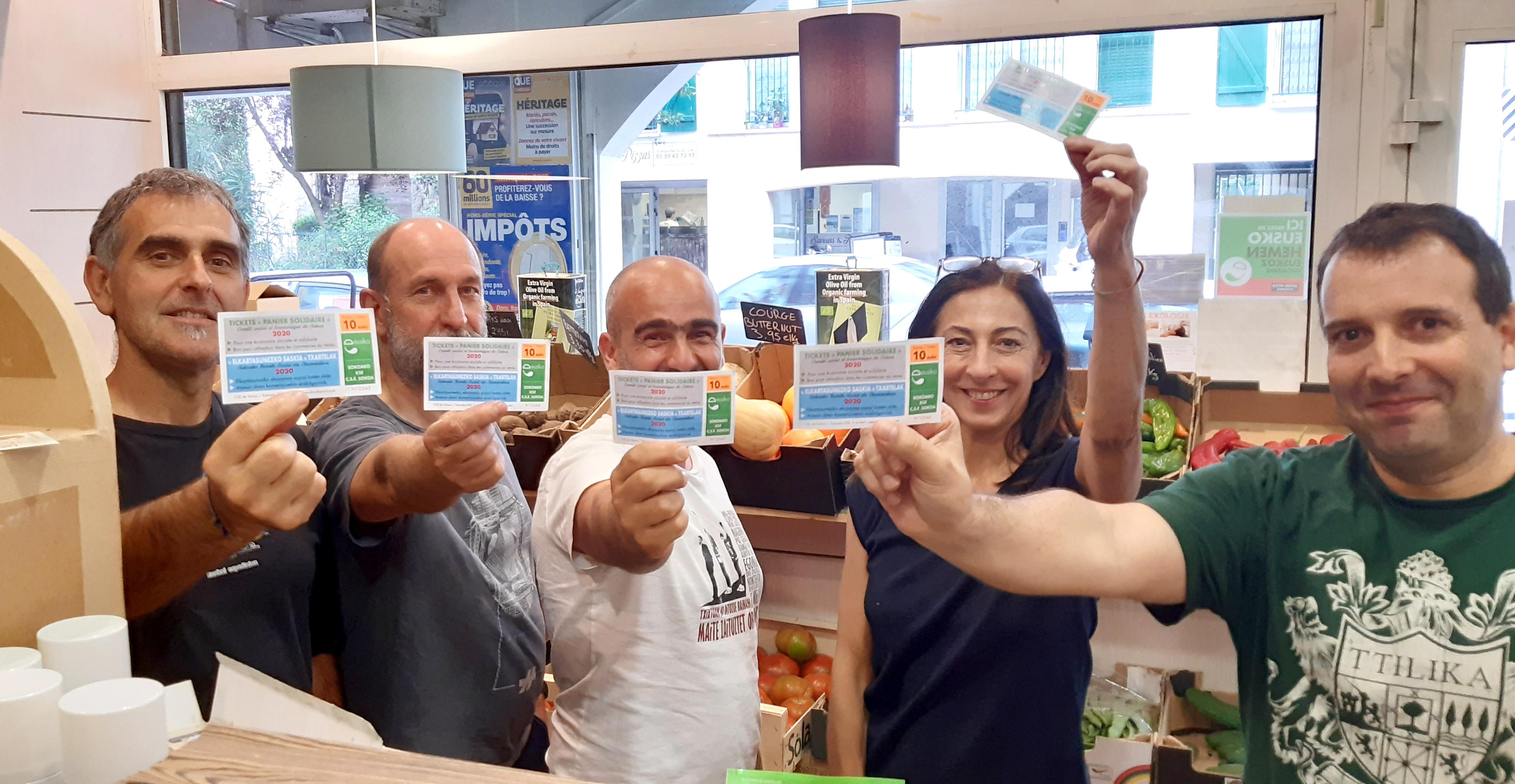 CSE Sokoa : elkartasunez, 16 000 eusko isuriak