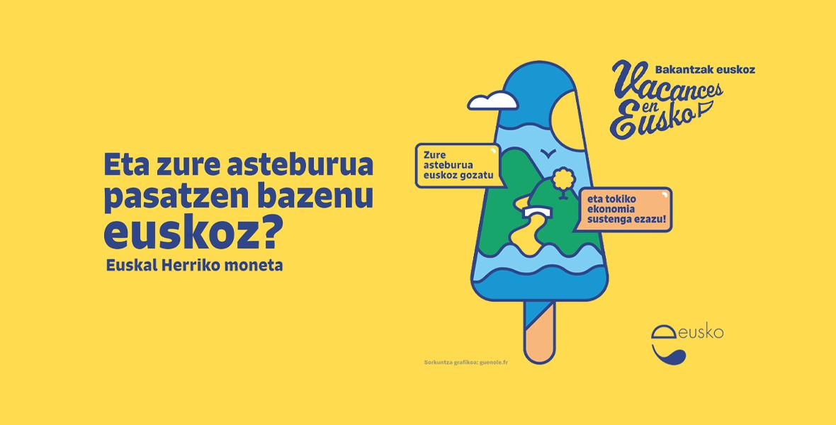 Bakantzak euskoz, turismo parte hartzaile batentzat!