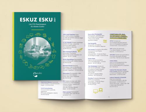 Nouvelle édition d'Eskuz Esku, l'annuaire des fournisseurs du réseau Eusko !