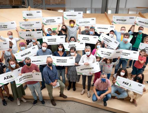 L'Eusko verse 50 540 euros de dons aux associations du Pays Basque